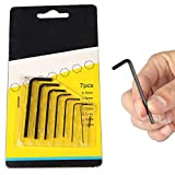 TOOLSCENTRE Mini 7pcs Hex Key Allen Key Set Micro Hexagon Wrench Key Set - Best Reviews Guide