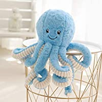 SUREH Vivid Plush Octopus Toy Stuffed Animal Toy Realistic Cuddly Soft Plush Toys Doll Pillow Decoration Gift for Kids Children 40cm