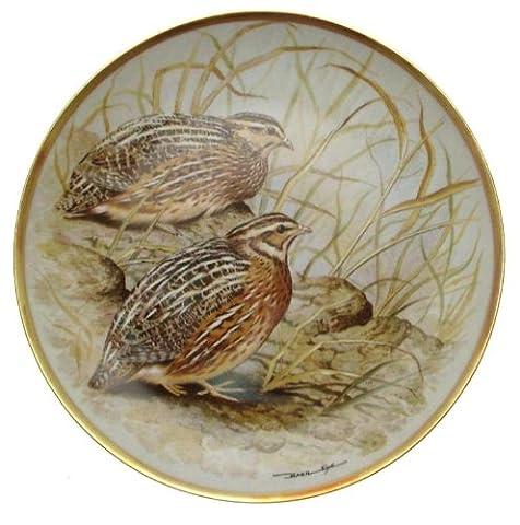 Haviland Porcelaine - C1979Haviland Franklin gamebirds en porcelaine de LIMOGES