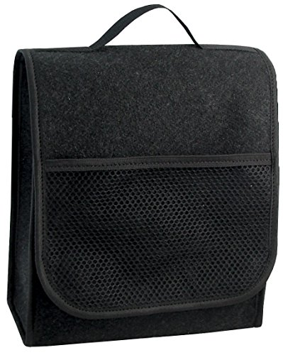 Kofferraumtasche in schwarz mittel für jedes Fahrzeug passend Test