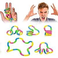 AK. SSI Erwachsene Dekompression Vent Spielzeug Twisted Kinder Perlen Armband Spielzeug 1Stück