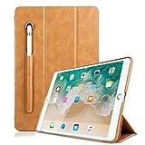 iPad Pro 10.5 Hülle, TechCode Portable Stilvolle Elegante Ultra dünn Leicht Flip Folio PU Leder Schutzhülle Case Cove