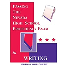Passing the Nevada High School Proficiency Exam in Writing