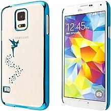 ECENCE Samsung Galaxy Alpha G850 Protective Hard funda cover case hadas azul 43010505