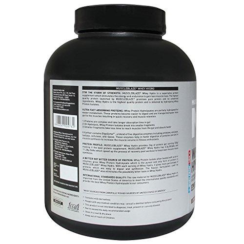 MuscleBlaze Whey Hydro Whey Protein Isolate- Chocolate (2 kg)