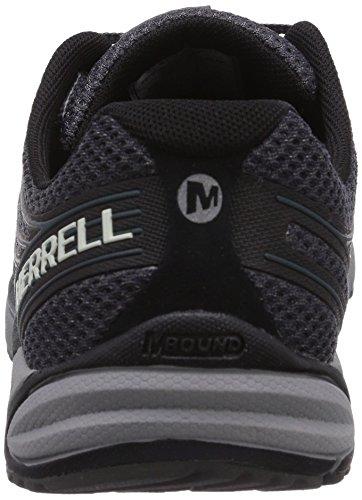 Merrell Bare Access 4, Chaussures de trail homme Black/Dark Grey