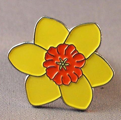 Mainly Metal Pin's en émail Motif jonquille l'emblème du Pays de Galles