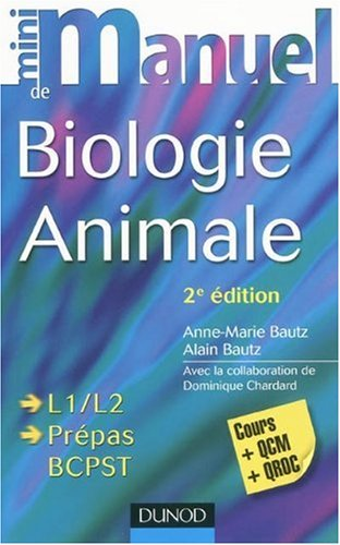 Mini manuel de Biologie animale