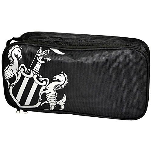 Newcastle United FC–Tasche für Schuhe mit Wappen Schwarz / Weiß