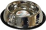 25cm Stainless Steel Non Slip Dog Bowl
