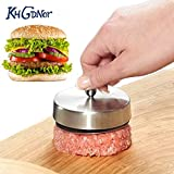 Pinkdose® Kitchen New Stainless Steel Hamburger Maker Meat Patties Mold Sandwich Burger Hand Press Mold Hamburger Tool