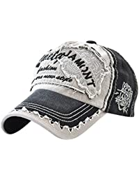 Gorras de Sol SUNNSEAN Color Sólido Simple Moda Baseball Cap Sombreros para  Deportes al Aire Libre para Hombres y Mujers Unisex… EUR 1 fa474a10015