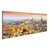 bilderfelix® Bild auf Acrylglas Dämmerung von Toledo.