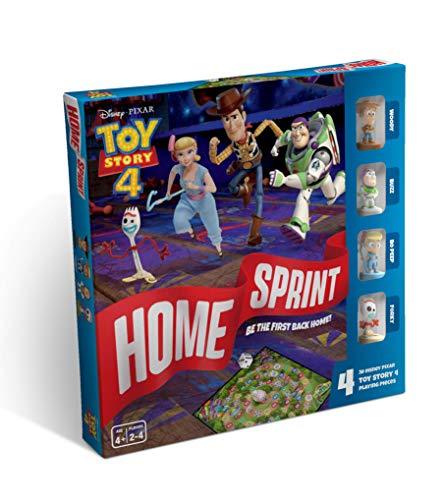 4 Home Sprint Brettspiel, Mehrfarbig ()