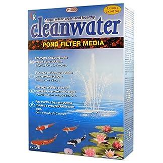 cleanwater pond filter media p1000 - for crystal clear water & no algae problems Cleanwater Pond Filter Media P1000 – for crystal clear water & no algae problems 51VWq7pciyL