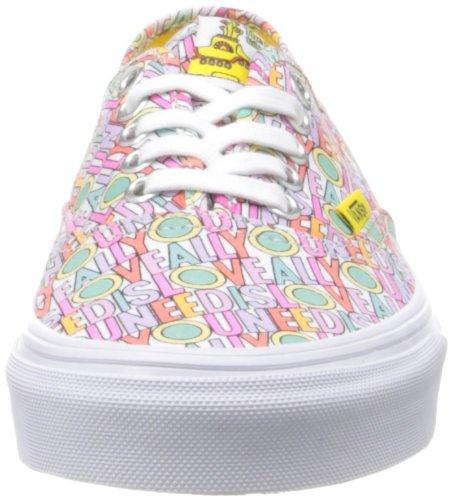 Vans U Authentic(the Beatles) A, Sneakers Basses Adulte Mixte Multicolore (the Beatles)