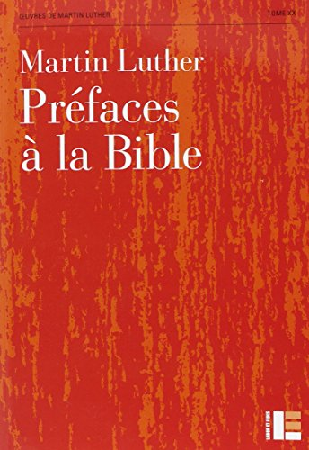 Préfaces de la bible par Martin Luther