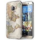 178 - Cool Fun World Map The World Look Design htc One M9