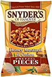 Snyder's Honey Mustard and Onion Pretzel Pieces 125g - 10 pack