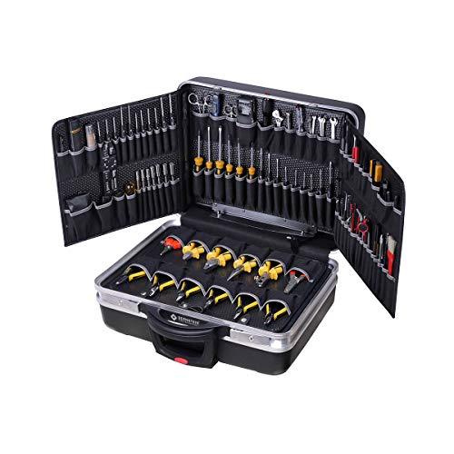 Bernstein rollbarer Service-Koffer 6500R BOSS mit 110 Werkzeugen