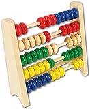 beeboo Zählrahmen-Abacus 15cm breit und 100% FSC, 1 Stück