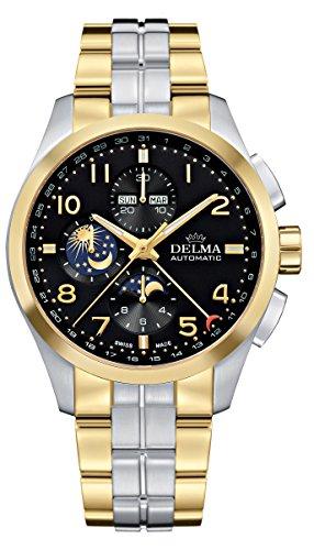 Delma - Chronograph/Herrenuhr Automatik Metallarmband 407096