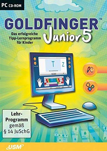Preisvergleich Produktbild Goldfinger Junior 5- Das erfolgreiche Tipp-Programm für Kinder ab 8 Jahren