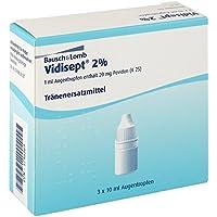 Vidisept 2% Augentropfen 3X10 ml preisvergleich bei billige-tabletten.eu