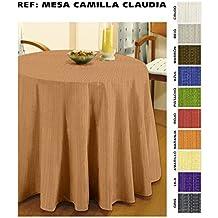 Cardenal - Falda de Mesa Camilla 90 Claudia Gris