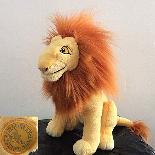 xuritaotao 1 Stücke Sitzhöhe 32 cm Original Cartoon Der König Der Löwen Simba Erwachsene Simba Plüschtier Weichen Jungen Puppe Für Kinder Geschenk (König Der Löwen Puppe)