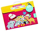 100 gommettes bebes animaux (coll. ma...