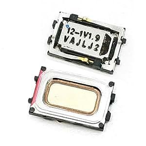 Gino 2 pièces de rechange téléphone haut-parleur écouteur noir pour Nokia N85