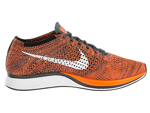 Nike Herren Laufschuhe, 44 EU Orange / Weiß / Grau (Total Orange / White / Dark Grey)