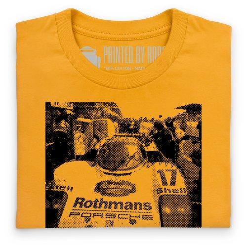 PistonHeads PHLM13 1987 T-Shirt, Herren Gelb