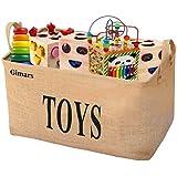 Panier de Rangement, GIMARS 20 Inches Panier à linge Parfait pour rangement de baby jouet, vêtement, chien jouet, enfant livres, serviette, sac à main etc