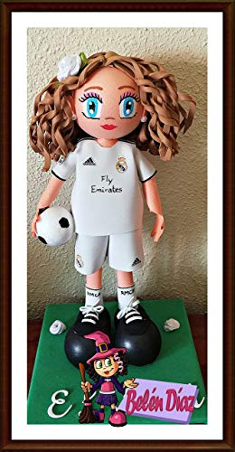 Muñeca fofucha personalizada Real Madrid C.F. 26 cms. fútbol liga