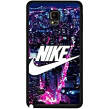 Night Urban Design Nike Phone caso Cover for Funda Samsung Galaxy Note 4 Just Do It Luxury Design