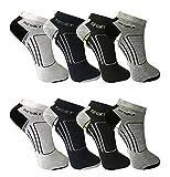 BestSale247 12 Paar Damen Herren Sneaker Socken (39-42, Herren/Muster 4)