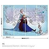 FORWALL DekoShop Disney Frozen Fototapete Tapete Disney Eiskönigin AD1635P8 (368cm x 254cm) Photo Wallpaper Mural