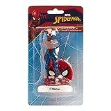 Generique - Superhelden Spiderman-Kuchenzubehör rot-blau 6cm