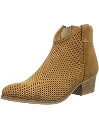 Buffalo Damen ES 30684 Chapa Suede Cowboy Stiefel