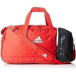 adidas Tiro Tb Bolsa de Deporte, Unisex Adulto, Rojo (Escarl / Negro / Blanco), L