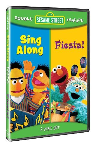 Sesame Street Double Feature: Sing Along & Fiesta! by Caroll Spinney
