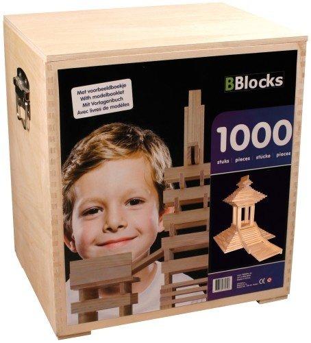 Preisvergleich Produktbild Bbl1000K - Bblocks 1000-teilig Kist