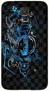 Noticeable multicolor printed protective REBEL mobile back cover for Samsung Galaxy S5 / SM-G900I D.No.N-L-14376-S5
