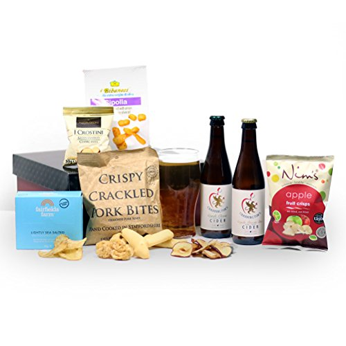 Cider, Pork & Apple Man Box - Gift Hamper from Hay Hampers