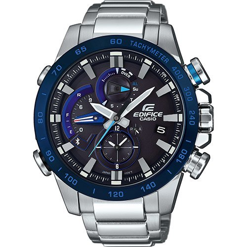 Casio Edifice Bluetooth Triple Connect - Unisexchronograph - silber