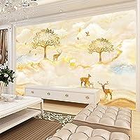 Dekoartikel für Kinderzimmer Chan-Mei 3D-Chinesische Tinte Landschaft Studie Videos Wandmalerei das Wohnzimmer Sofa Tv Hintergrund Tapete Abstract 350cmX300cm
