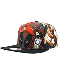 Deadpool Comic Collage Snapback Cap multicolor