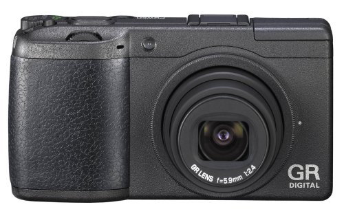 Ricoh GR Digital 2 Digitalkamera (10 Megapixel, 6,9 cm (2,7 Zoll) Display) schwarz